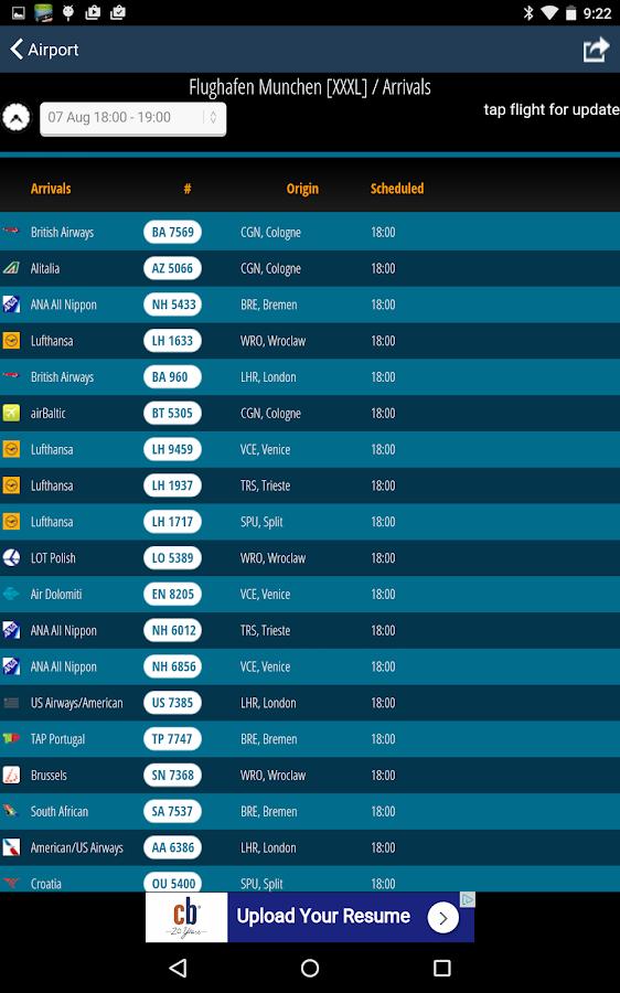 Munich Airport + Radar (MUC)- screenshot