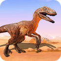 Jurassic Raptor simulator icon