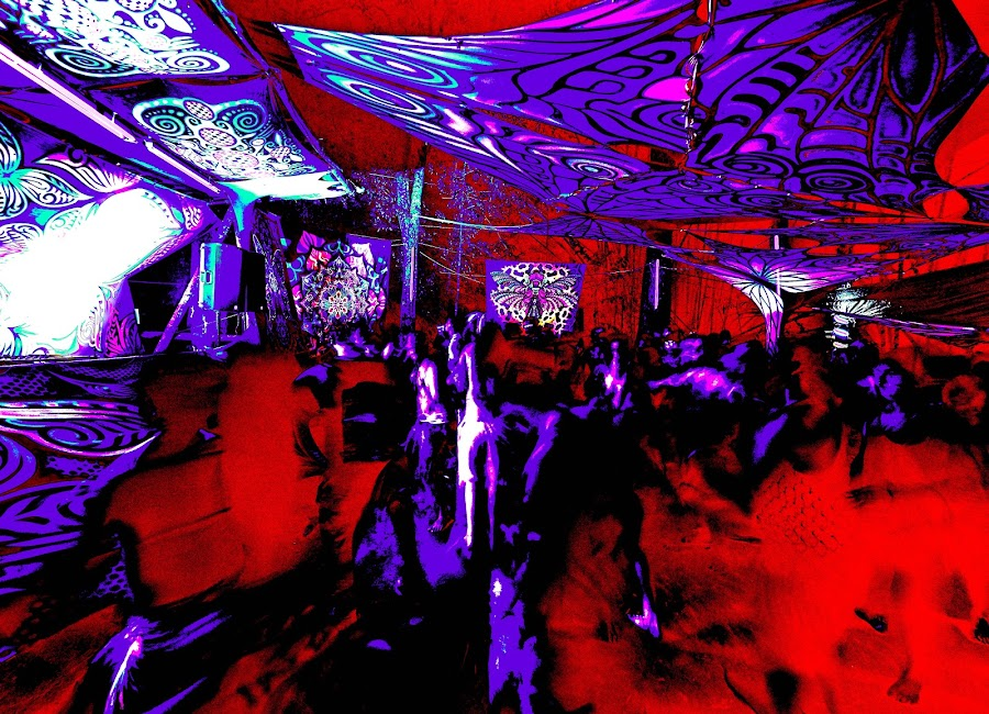 Psychedelic dancefloor by Matizki Blixten - Abstract Patterns ( psyechedelic, patterns, dancefloor, abstract, malaysia )