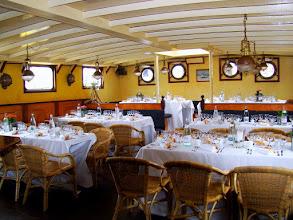 Photo: #013-Journée à l'Armada 2008. Déjeuner à bord du JR Tolkien.