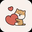 [AB] 시바개 사랑스러워 - 카카오톡 테마 icon