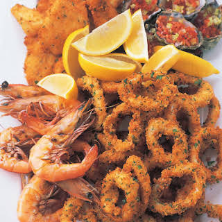 Hot Seafood Platter.