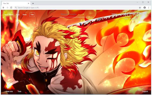Kimetsu No Yaiba HD Wallpapers Anime New Tab