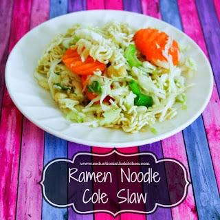 Ramen Noodle Cole Slaw