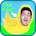 Flappy You: Dodge fun obstacles as a bird icon