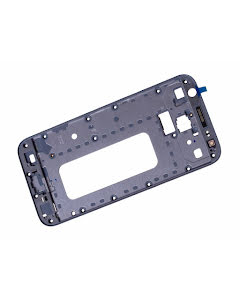 Galaxy J3 2017 Front Cover Frame Silver