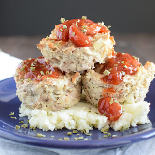Meatloaf Muffins with Sweet Chili Glaze