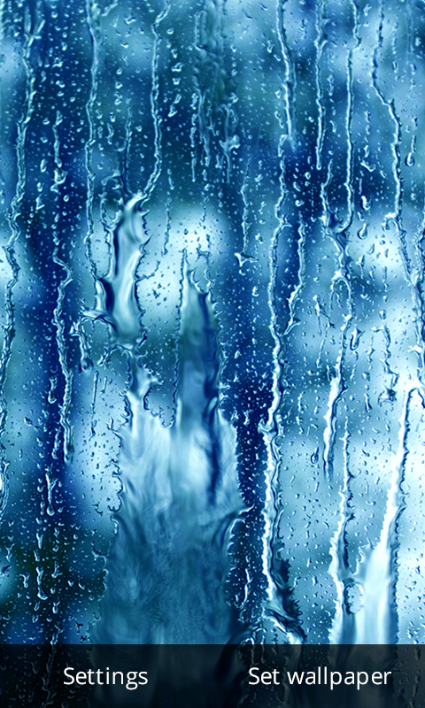 Rain Drop Live Wallpaper- screenshot
