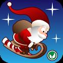 Tiny Santa - Xmas Hills icon