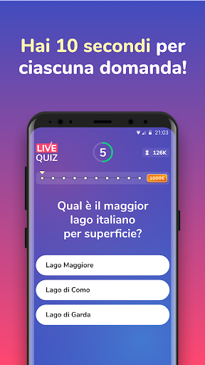 Live Quiz - Vinci Premi Veri cheat screenshots 2