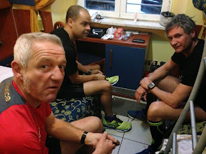 Photo: Briefing avant course