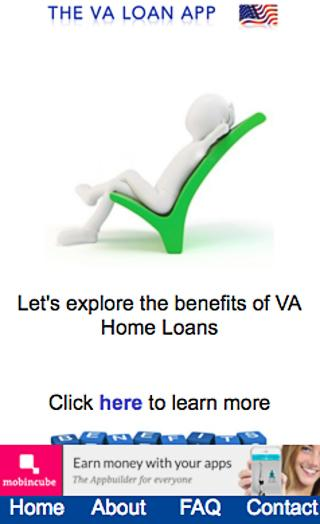 The VA Loan App- screenshot