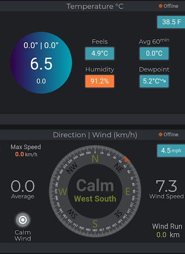 Screenshot for AUST Weather Station in United States Play Store