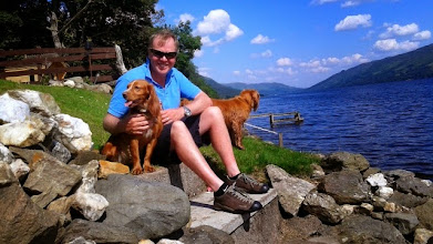 Photo: Pets love Little Briar Cottage Loch Earn