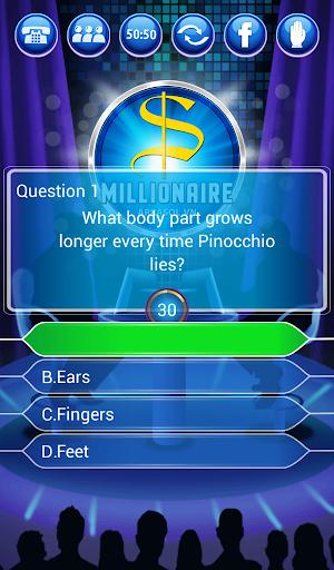 Millionaire Quiz 2018 - Million Trivia Game Free 3.26 screenshots 14