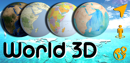 Map Of The World 3d.3d Earth Globe World Map Panorama 360 Satellite Apps On Google Play