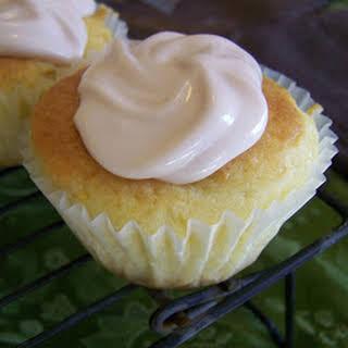 Peach Mango Cupcakes.