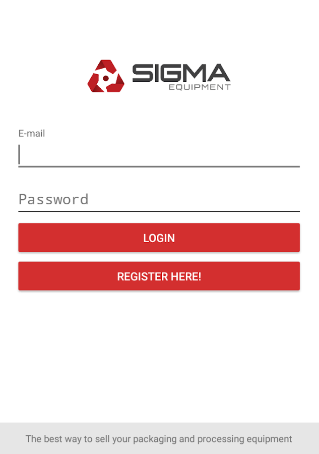 SIGMA Equipment- screenshot