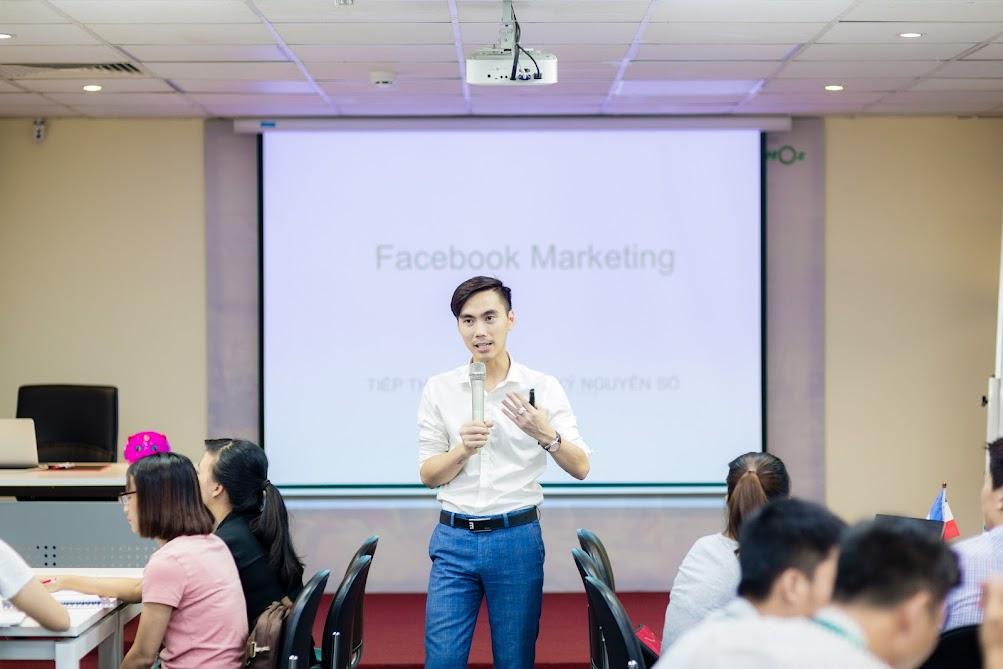 Hình ảnh khoá học Facebook Marketing K33