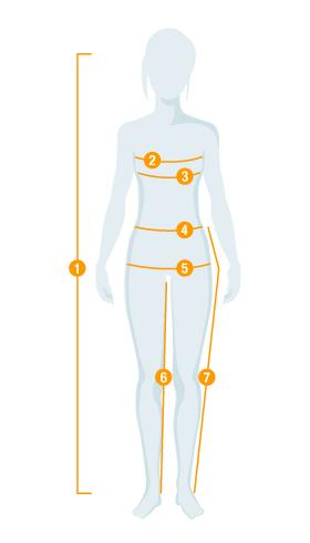 Nắm được số đo cơ thể để chọn quần áo vừa vặn