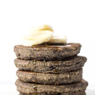 Banana Buckwheat Quinoa Pancakes.