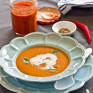 Spicy Pumpkin and Bean Soup