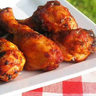 Sweet & Sticky BBQ Chicken Drumsticks