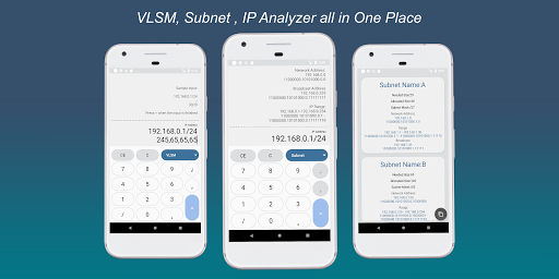 Download VLSM and Subnet Calculator and MORE on PC & Mac