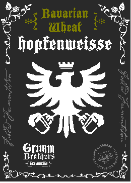Logo of Grimm Brothers 4th Annivsersary Hopfenweisse