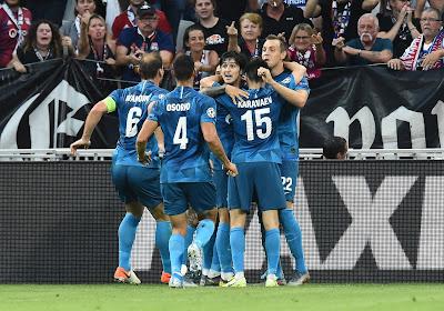 Le Zenit Saint-Pétersbourg champion pour la seconde fois consécutive