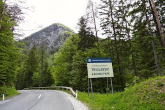 Photo: Es geht hinein in den Triglav - Nationalpark.