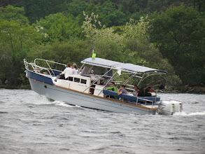 Photo: Bateau sur le lac de Biscarosse
