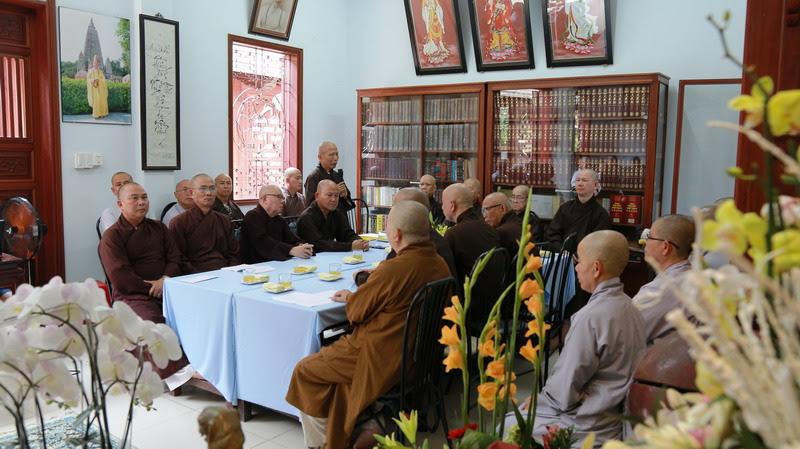 Ban Thường Trực Hội Đồng Cố Vấn Giáo Hạnh GĐPTVN tổ chức kỳ họp đệ nhất thượng bán niên 2017