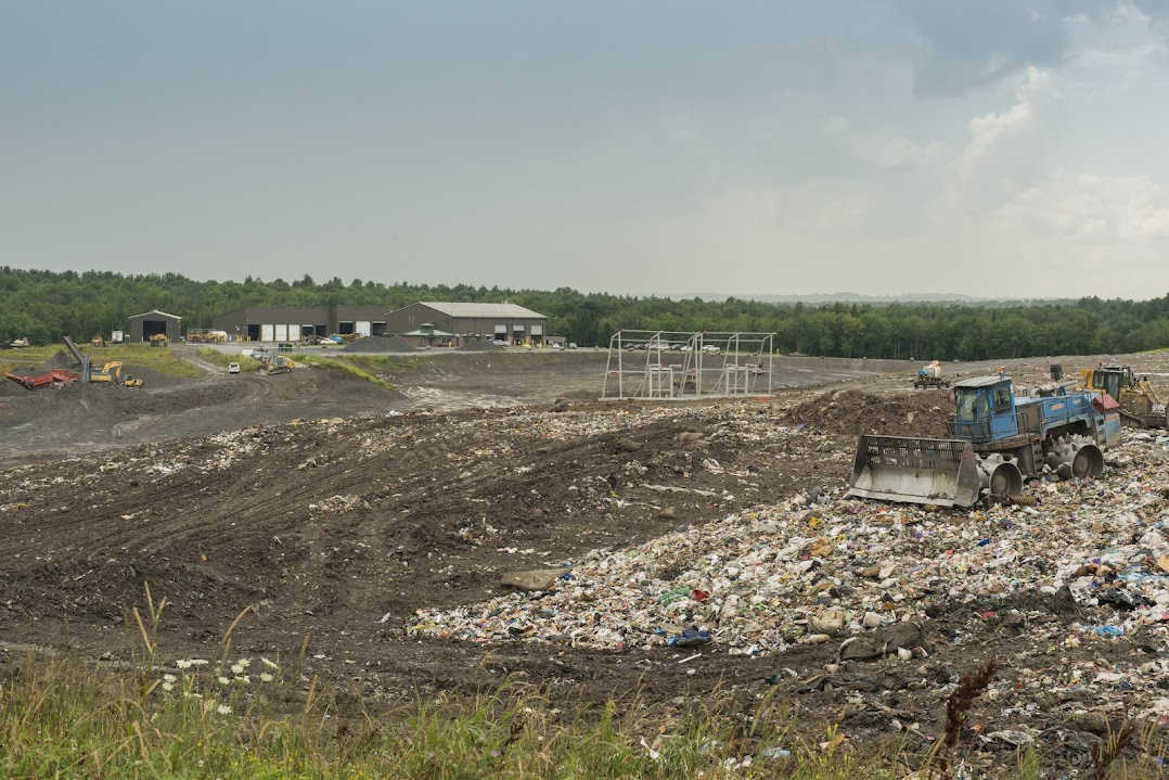 Oneida-Herkimer Regional Landfill in New York, one of Google's carbon offset project partners