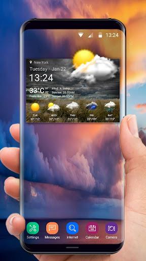 Accurate Weather Report 16.6.0.6206_50092 screenshots 2