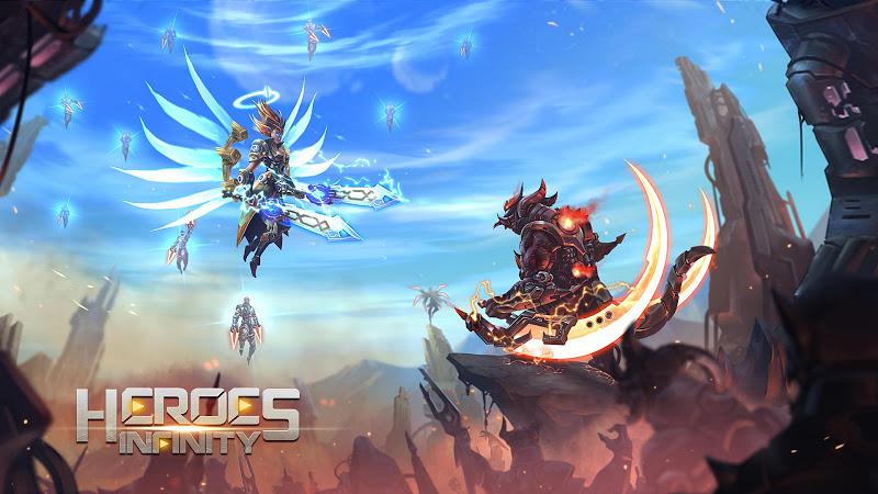 Heroes Infinity: Blade & Knight Online Offline RPG Screenshot 1