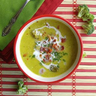 Crock Pot Broccoli Soup Recipe