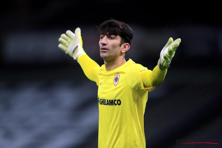 Alireza Beiranvand en difficulté à l'Antwerp : le club cherche à transférer un autre gardien