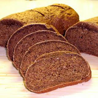 100% Whole Grain Rye Bread.