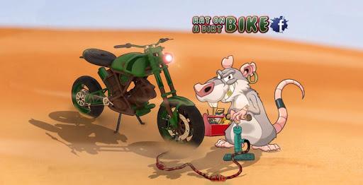 Rat On A Dirt Bike