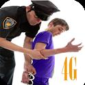 jokes of police kids call 4g simulation icon