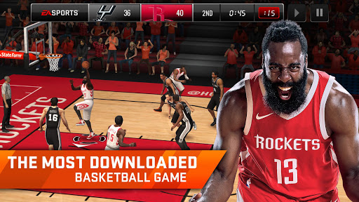 NBA LIVE Mobile Basketball  gameplay | by HackJr.Pw 8