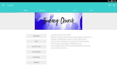My Journey Church- screenshot thumbnail