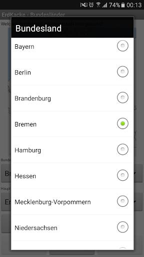 ErdKacke-Deutsche Bundeslu00e4nder 1.0 screenshots 2