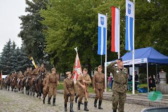 Photo: Marsz Pierwszej Kadrowej i I Piknik Historyczny w Słomnikach