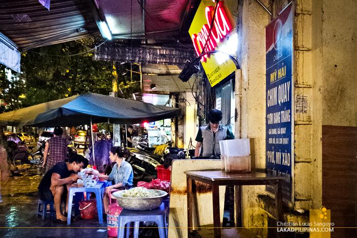 Com Ga Food Corner Hanoi Vietnam
