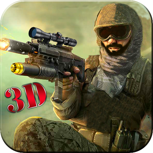 Commando Force strike Combat: Frontline Bullet war