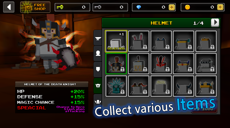 Pixel F Blade - 3D Fantasy rpg Screenshot 5