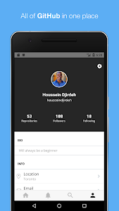 GitPoint - GitHub in your pocket 1 7 1 + (AdFree) APK for Android