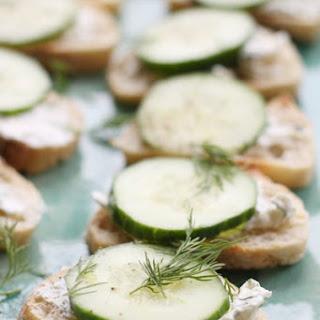 Cucumber Cream Cheese Bites